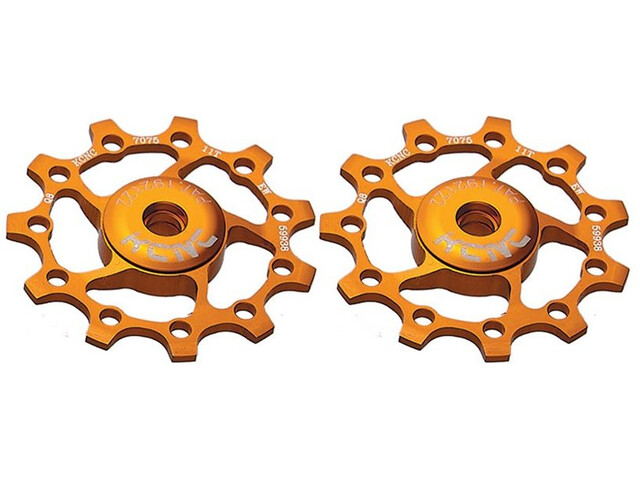 KCNC Jockey Wheel 11T 2 Pieces gold